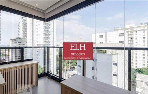 Imagem 1 de 30 de Apartamento Com 2 Dormitórios Para Alugar, 59 M² Por R$ 6.000,00/mês - Pinheiros - São Paulo/sp - Ap0172