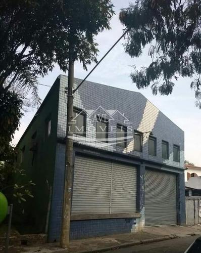 Galpão Para Locação No Bairro Vila Regente Feijó, 300 M, 4 Wc - 875