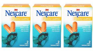 3m Nexcare Protetor Auditivo C/2 Pares (kit C/03)