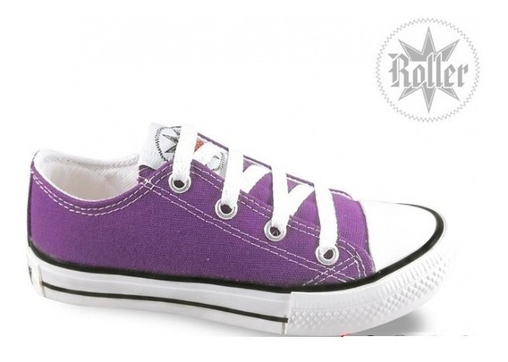 Zapatillas Lona Roller Star Original Niños Niñas 21 /34! Simil Converse All Star