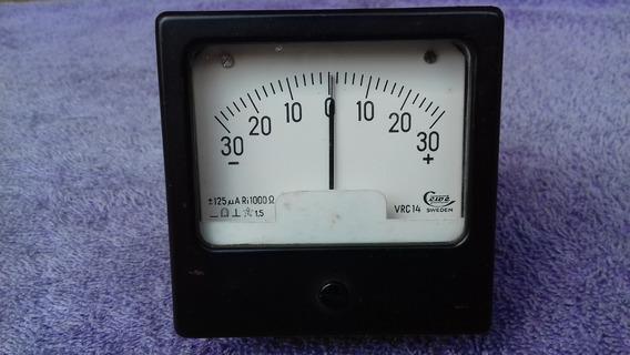 Galvanômetro Medidor Dc Zero Central