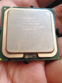 Intel Celeron D 336, 2.8 Ghz