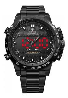 Reloj Weide Wh 6102 Acero, Digital, Alarma!!!