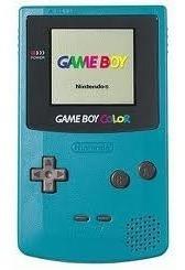 Game Boy Color Com Bateria E Carregador ,e Um Jogo A Escolha
