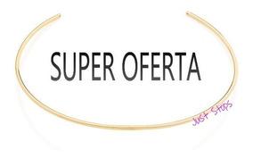 Gargantilha Choker Aro Fino Liso Med 11cm Rommanel 531893