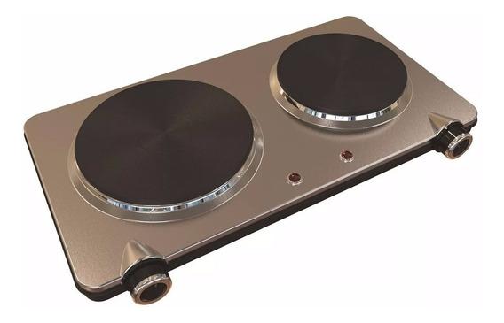 Nuevo Anafe Ultracomb An8800 Doble Hornalla En Acero Inox