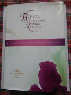 Biblia De Estudio Para La Mujer Rv1960