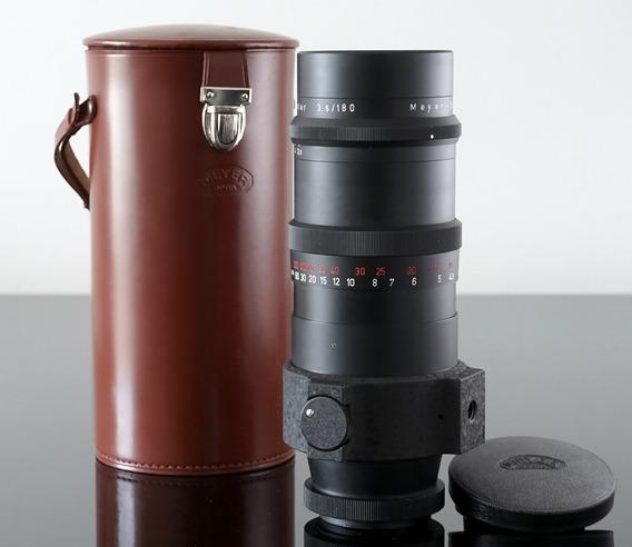 Lente Meyer Primotar 15lamin. 180mm 3.5-mount Canon Ef \ Eos