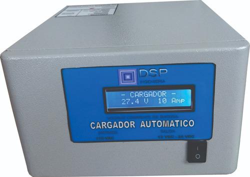 Cargador Automatico De Baterias 24v  10  Amp