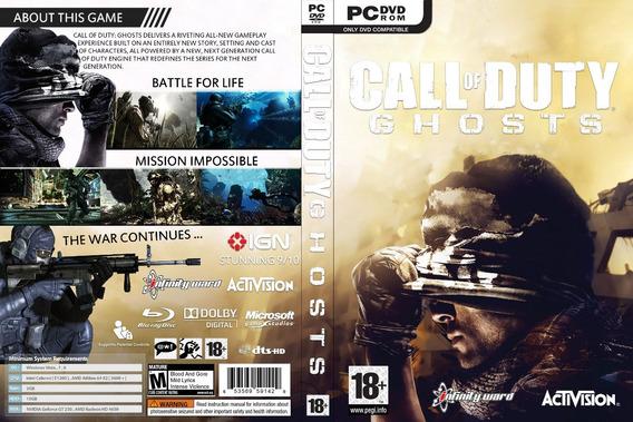 Call Of Duty Ghosts Pc Cd/key Original Steam