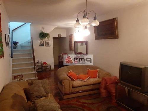 Sobrado Com 3 Dormitórios À Venda, 156 M² Por R$ 499.000 - Jardim Leonor Mendes De Barros - São Paulo/sp - So0216