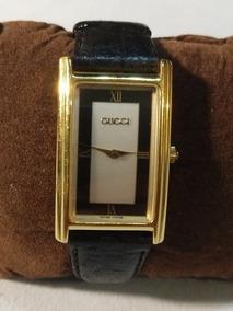 Relogio Gucci - Folheado A Ouro