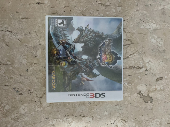 Monster Hunters 4 - Ultimate - 3ds