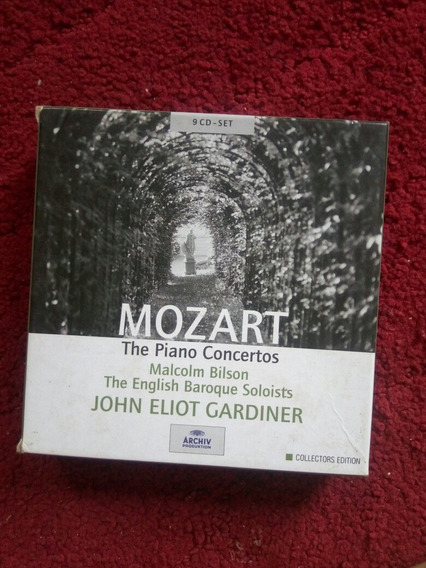 Mozart Box Set 9 Cds Importados