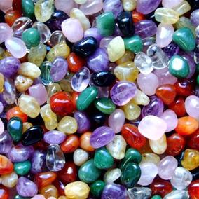 Pedras Roladas Mistas Semi Preciosas 1/2 Kg - No Atacado Peq