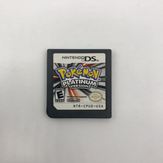 Pokémon Platinum Version Nintendo Ds 3ds Original Americano
