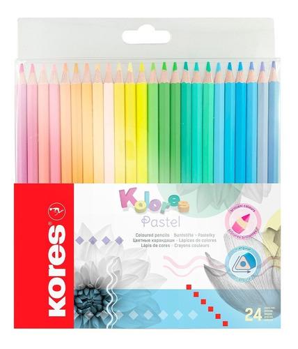 Colores Kores Pastel X 24 Uds - Unidad a $892