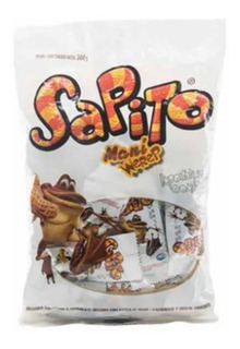6 Bolsas Sapito Ancor Mani Chocolate Ar - kg a $304