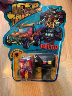 Galgo Jeep Transformers Blister Sin Uso