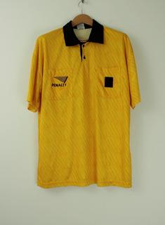 Camisa Penalty Juiz Arbitro De Futebol - Tamanho G - Gg