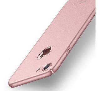 Funda Pc iPhone X / 5 / 6 /7 /6+/7/+/8/ 8+ Rígida + Cristal