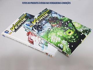 02 Livros Capa Dura Dc Comics Do Herói Lanterna Verde (2013)