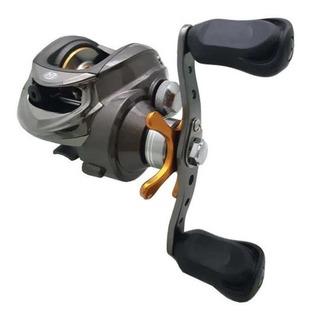 Carretilha Pesca Perfil Baixo Harpia Albatroz 6 Rol Esquerda