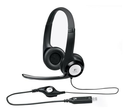 Audífonos Logitech Usb H390 Control Audio Integrado
