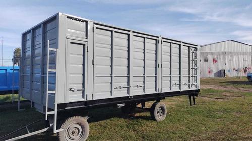 Imagen 1 de 15 de Cajas Carrocerias Para Camion Usadas Acoplado Colocacion