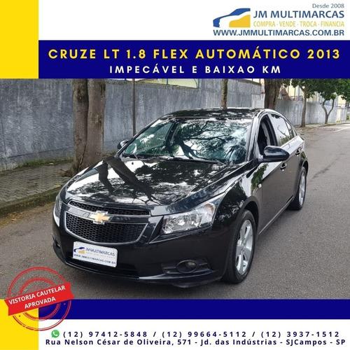 Cruze Lt 1.8 Econoflex 2013 Automático Impecável E Baixo Km