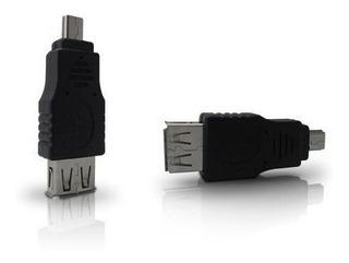 Adaptador Usb 2.0 A Mini Usb 2.0 Nisuta Ns-calusmi2 5 Pin