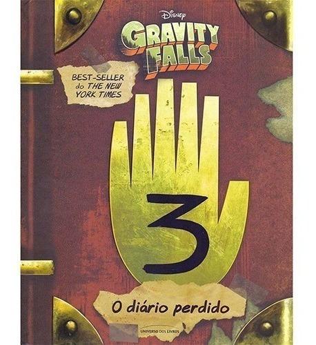 O Diário Perdido De Gravity Falls - Alex Hirsch Disney Novo