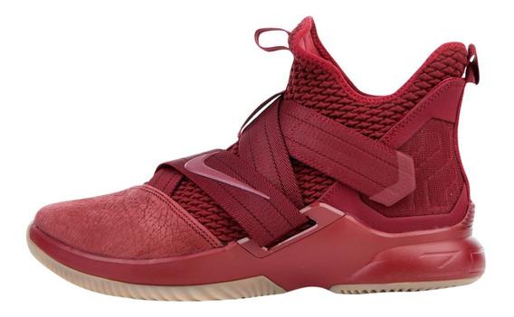 Nike Lebron Soldier 12 Team Red Gum