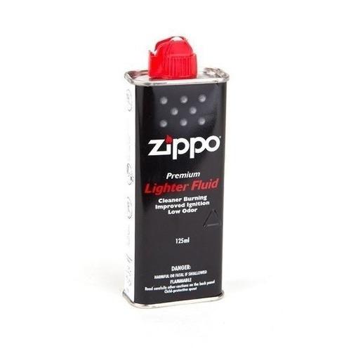 Kit Zippo Original - 2 Latas De Fluido 125ml
