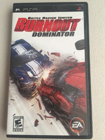 Jogo Burnout Dominator Psp Original