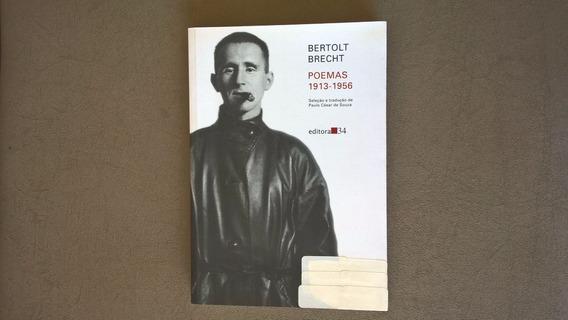 Livro - Bertolt Brecht Poemas 1913-1956