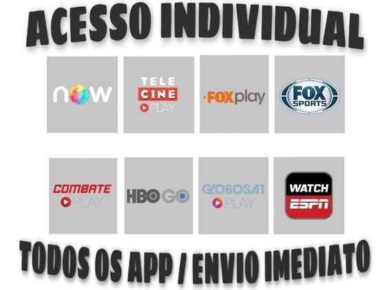 Promoção, Telecine, Foxplay, Combateplay 12 Mês.