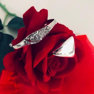 Pulseira Bracelete + Anel De Prata