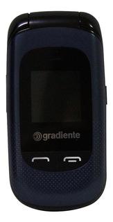Celular Flip Gradiente Neo S105a - Azul