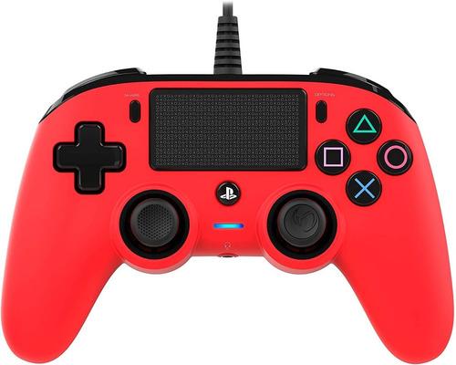 ..:: Control Alambrico Ps4 Rojo ::.. Playstation 4 Nacon