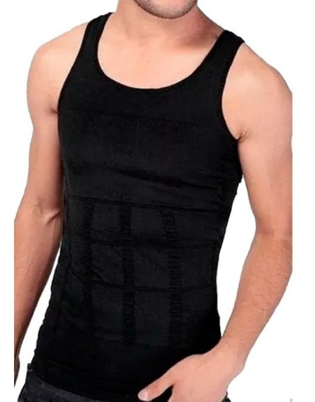 Camiseta De Compresión , Moldeadora Hombre Calidad Premium