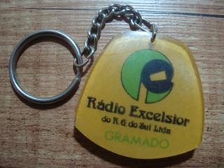 Chaveiro Antigo Radio Excelsior Rio Grande Do Sul - Gramado