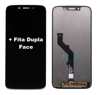 Tela Frontal Display Vidro Touch Moto G7 Play Xt1952-2