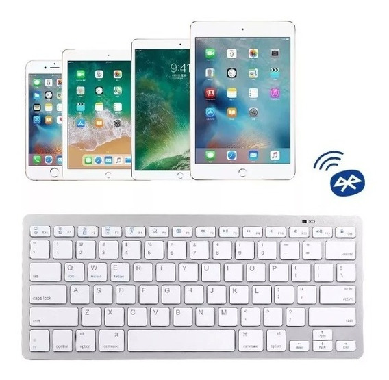 Mini Teclado Bluetooth Tablet Mac Apple iPad Windows Android
