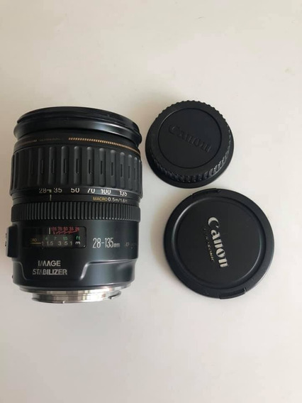 Lente Canon 28-135mm 1:3.5-5.6 Is Frete Grátis 12x Sem Juros