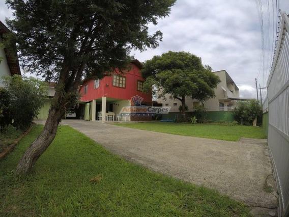 Adriano Carpes Imóveis - Vende - Casa Mista 4 Quartos E Espaçoso Terreno Na Praia De Gravatá, Navegantes - 1172