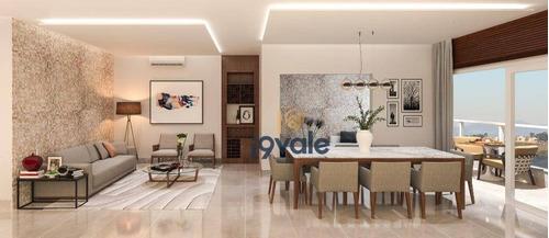 Apartamento Novo, Varanda Gourmet,  3 Dorms Em  Urbanova Sjc - Ap2477