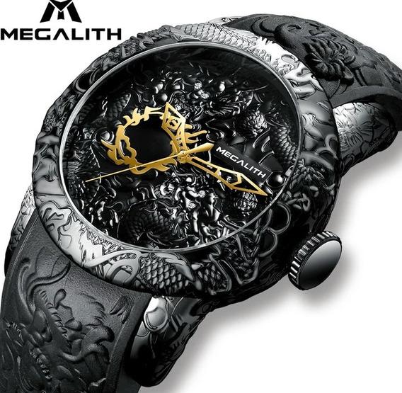 Relógio Megalith Original Dragon .