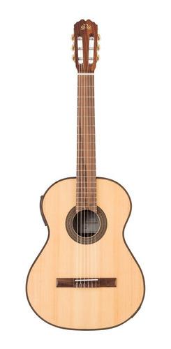 Imagen 1 de 7 de Guitarra Electroacústica La Alpujarra 70ec Nueva Libertella