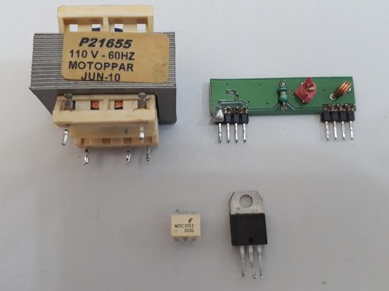 Kit Peças Motor Ppa Transformador + Receptor 433mhz